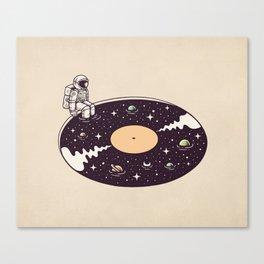 Cosmic Sound Canvas Print