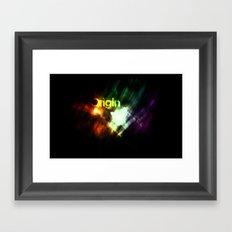 Origin Framed Art Print