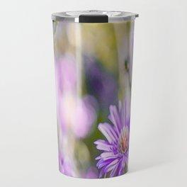 Summer dream - purple flowers - happy and colorful mood Travel Mug