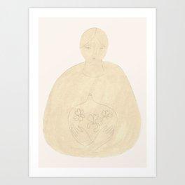 Potion aux Fleurs Art Print