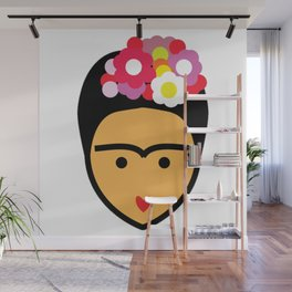 Minimal Frida Wall Mural