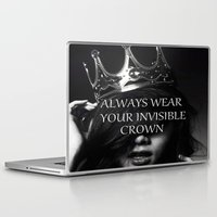 crown Laptop & iPad Skins featuring Crown by I Love Decor