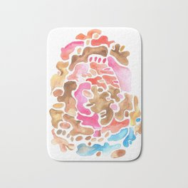 170626 Patches of Thoughts 3 | Abstract Shapes Drawing | Abstract Shapes Art |Watercolor Painting | Bath Mat