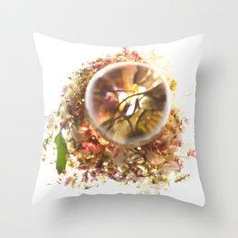 Botanical Blueprints Throw Pillow