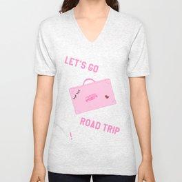 Girl Gang Travel Unisex V-Neck