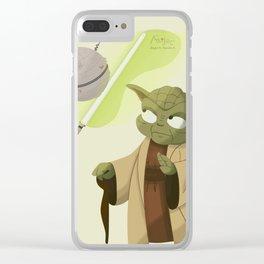 Las piñatas a Yoda gustan le Clear iPhone Case