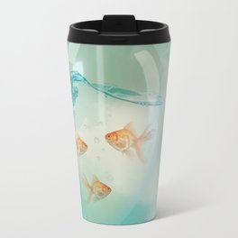 balloon fish 03 Travel Mug