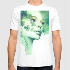 Serendipity Mens Fitted Tee White MEDIUM