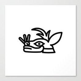 Mázatl Canvas Print