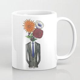Suit Vase Coffee Mug