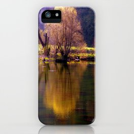 Sea and light iPhone Case