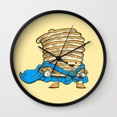 Captain Pancake Wall Clock