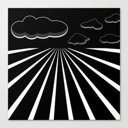 Dark Sky on the Horizon Canvas Print