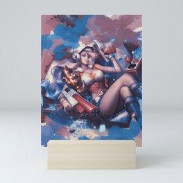 Miss Fourtune - League of Legends Mini Art Print