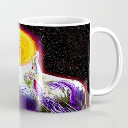MIND #2 Psychedelic Meditation Vibrant Ethereal Design Coffee Mug