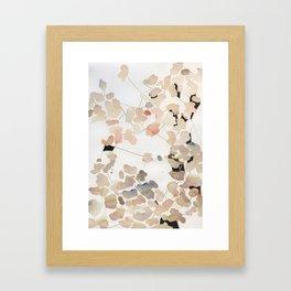 Petal Connection Framed Art Print