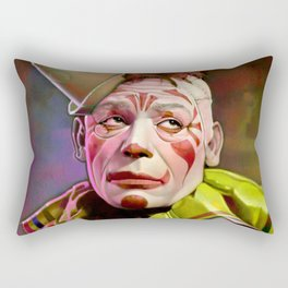 Laugh, Clown, Laugh (1928) Rectangular Pillow