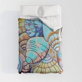 Belizean Shells Comforters