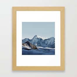 Himalaya Mountains IV Framed Art Print