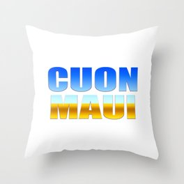 CUON MAUI Throw Pillow