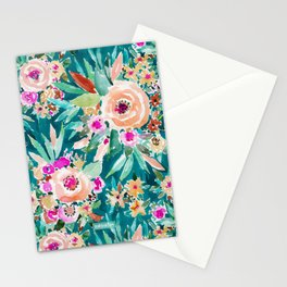 GOOD LIFE Colorful Floral Stationery Cards
