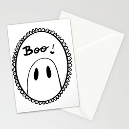 Boo Stationery Cards