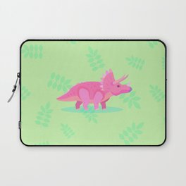 Triceratops, She Always Had an Attitude Laptop Sleeve