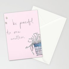 Be Peaceful Stationery Cards