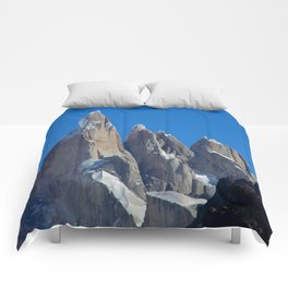 Tripple Mountains Comforters