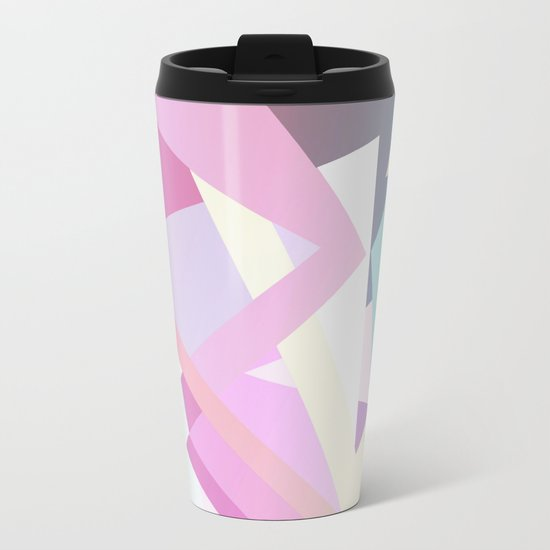 Pastel Pop Metal Travel Mug