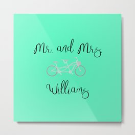 Williams Metal Print
