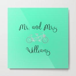 Williams Metal Print