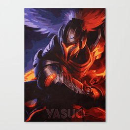 Yasuo Canvas Print