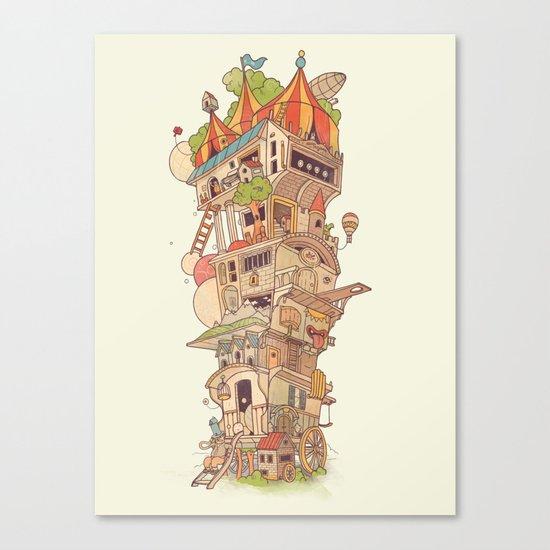Traveling Circus Canvas Print