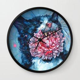Yawn Wall Clock