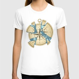 Beneath the Ripples of Existence (There's a Journey Called Life) T-shirt