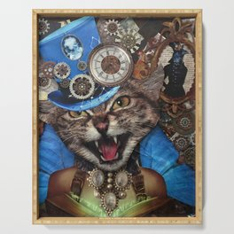 Miss. Steampunk Pussy Serving Tray