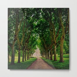 French Castle Metal Print