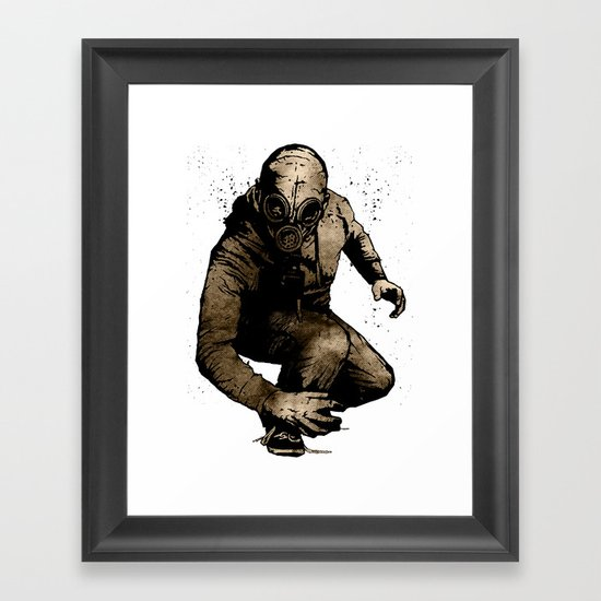 Trouble Will Find You, Always Framed Art Print