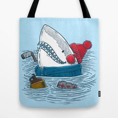 Great White North Shark Tote Bag