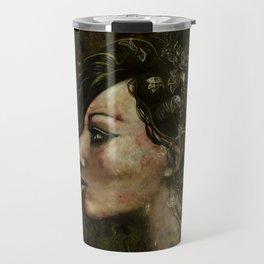 The Bride of Glass Blossoms Travel Mug