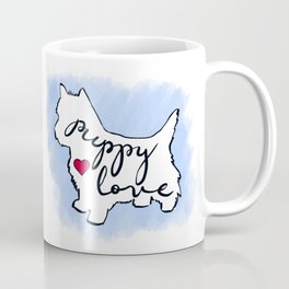 West Highland Terrier- Puppy Love Coffee Mug