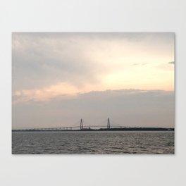 Distant View of Arthur Revenal Jr. Bridge Canvas Print