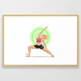 Reverse Warrior Framed Art Print