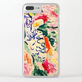 La Japonaise moma by Matisse Clear iPhone Case