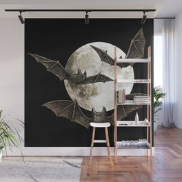 Creatures Of The Night Wall Mural