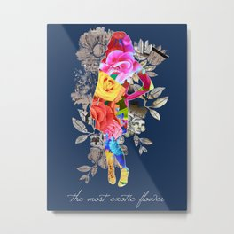 The Most Exotic Flower Metal Print