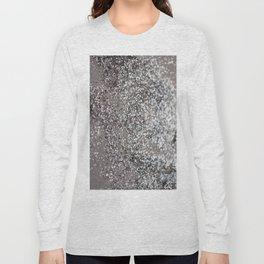 Sparkling SILVER Lady Glitter #1 #decor #art #society6 Long Sleeve T-shirt