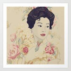 Mrs. Chan Art Print