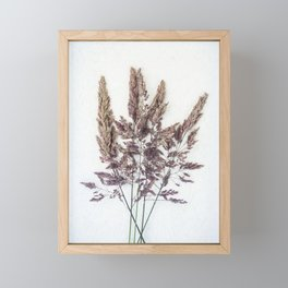 Velvet Grass Framed Mini Art Print